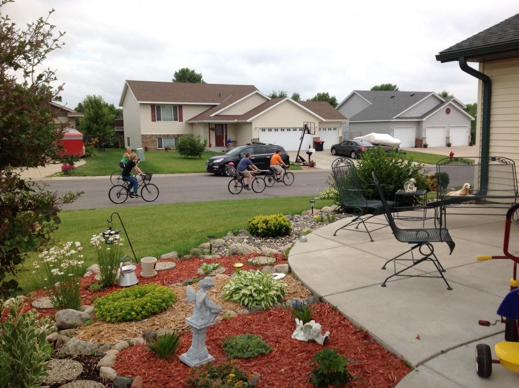 Starting Bike Ride